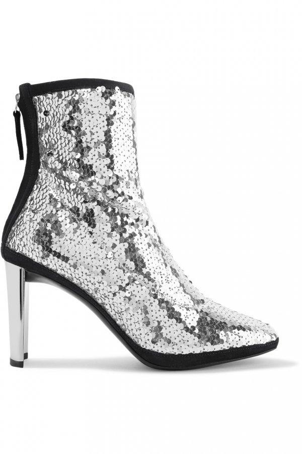 footwear, boot, shoe, high heeled footwear, black and white,