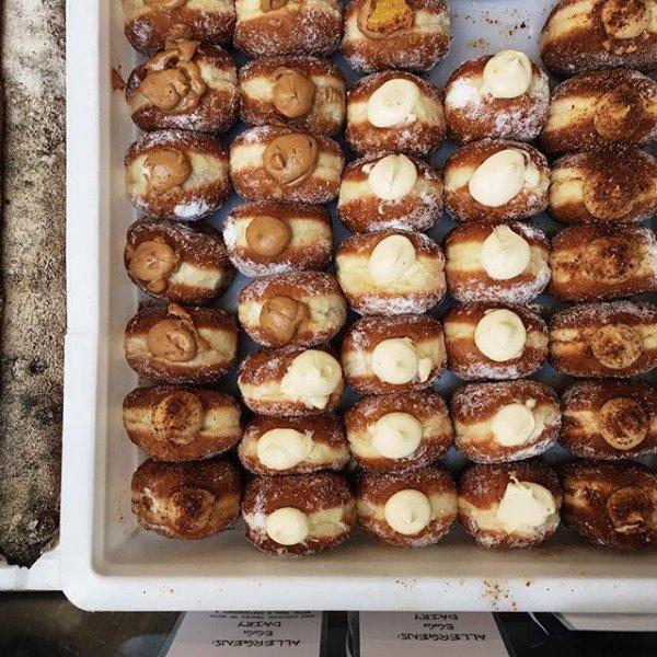 food, dessert, baked goods, bakery, meal,
