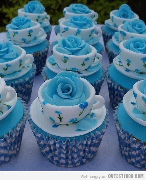 Blue Bells Cupcakes