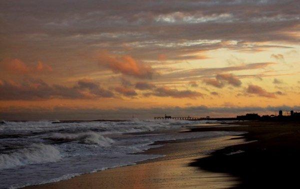 sky, horizon, sea, shore, ocean,