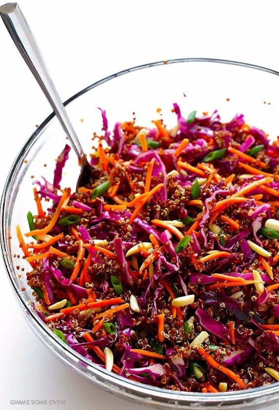 Easy Asian Quinoa Salad
