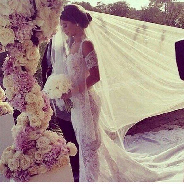 woman, purple, bride, pink, gown,