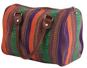Forever21 Striped Handbag