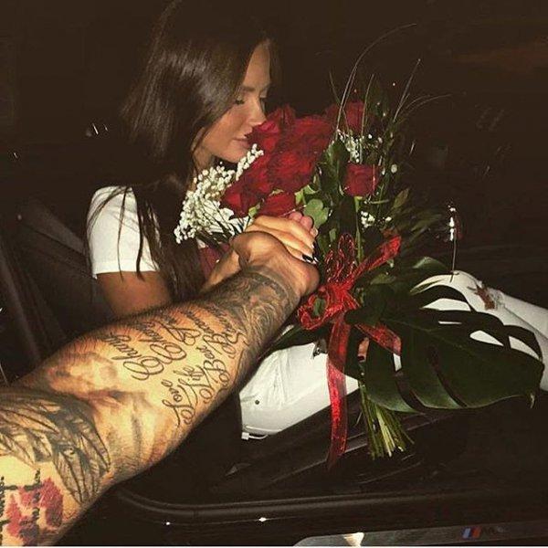 red, flower, floristry, romance,