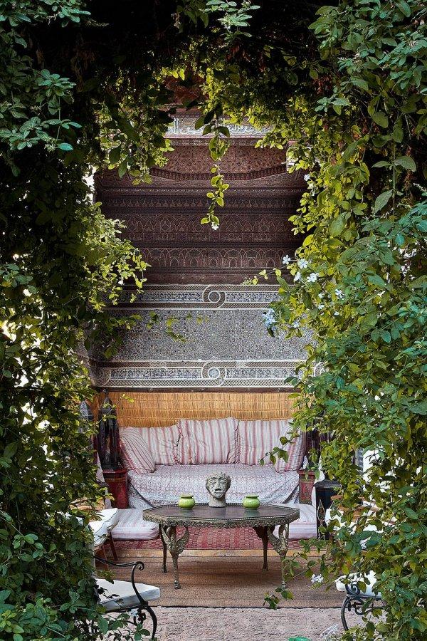 Green, Bench, Garden, Botany, Tree,