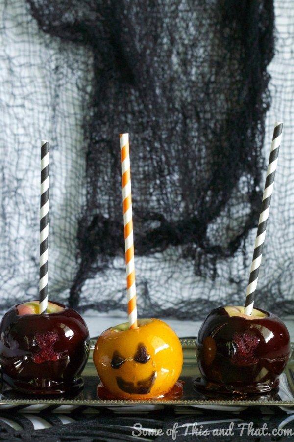 DIY Halloween Candy Apples