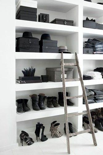 Black & White Closet Inspiration
