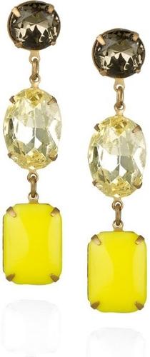Vintage Glass Drop Earrings