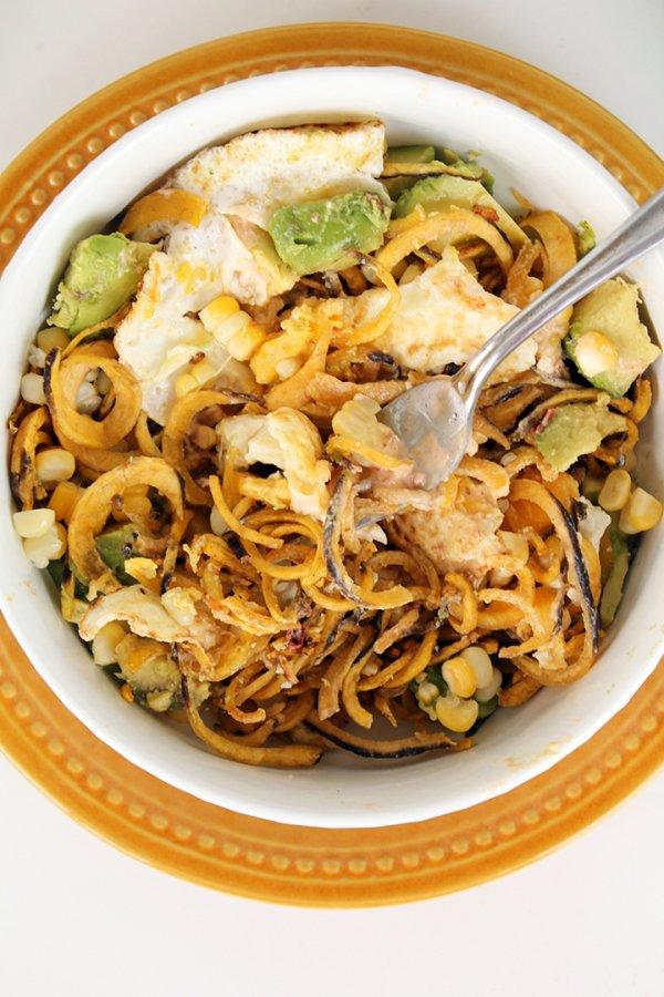 Plantain Noodle Bowl