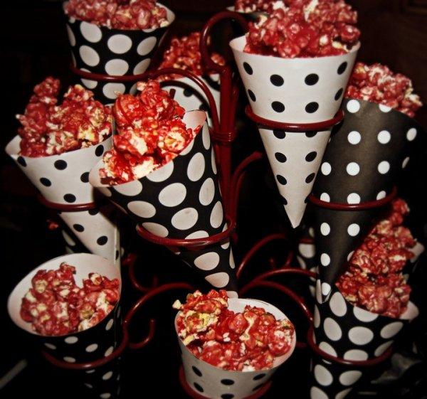 Gourmet Cherry Popcorn