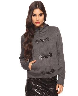 Toggle Knit Jacket