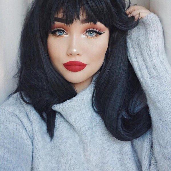 hair, face, black hair, nose, clothing,