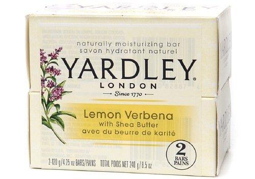 Yardley London Lemon Verbena Moisturizing Bath Bar