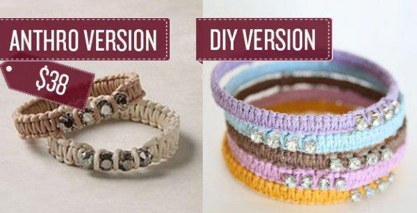 Woven Rope Bracelets
