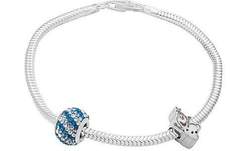 Olaf Crystal Bead and Bracelet Set