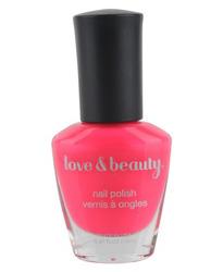 Neon - Love & Beauty Nail Polish in 'Neon Coral'
