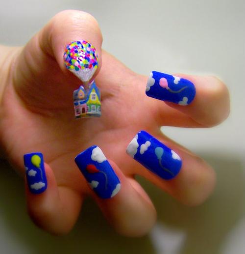 Up Nails 9 Examples Of Pop Culture Nail Art Makeup