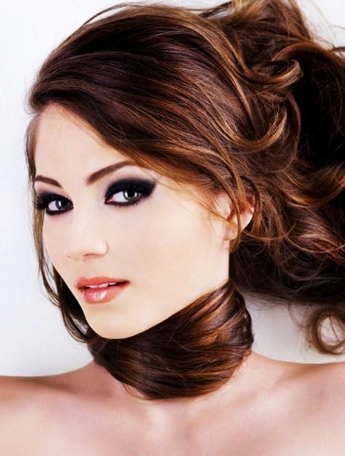 Caramel Brown Bold Makeup 8 Makeup Tricks For Brunettes