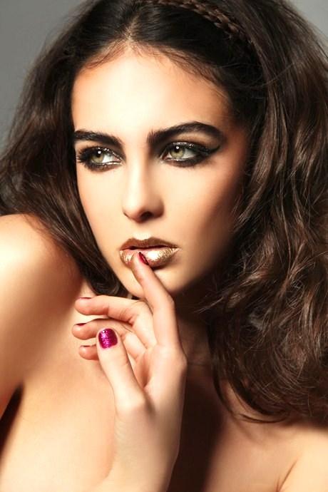 Coppery Lips 7 Fab Makeup Tricks For Hazel Eyes