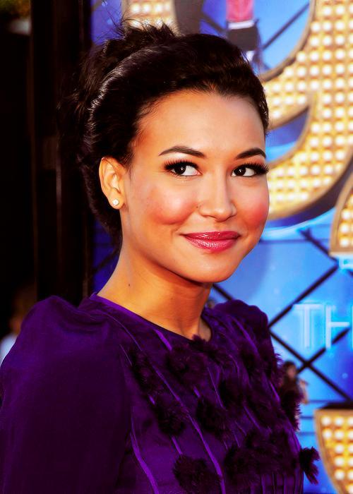 Naya Rivera as Santana Lopez on Glee
