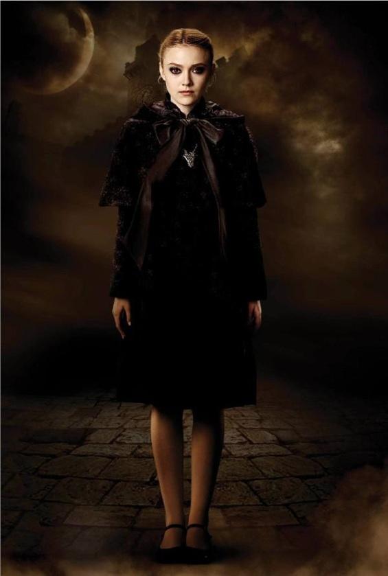 Dakota Fanning as Jane in the Twilight Saga