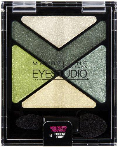 Maybelline New York Eye Studio Color Explosion Luminizing Eyeshadow, Forest