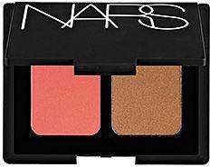 NARS: Highlighting/Bronzing Blush Duo: Orgasm/Laguna