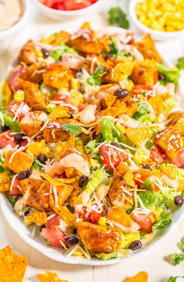 food, dish, salad, cuisine, produce,
