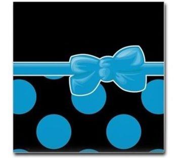 Dots and Ribbon Coasters