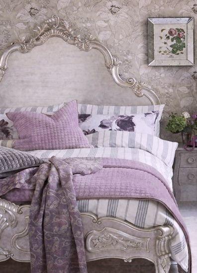 Glamorous French Inspired Bedroom