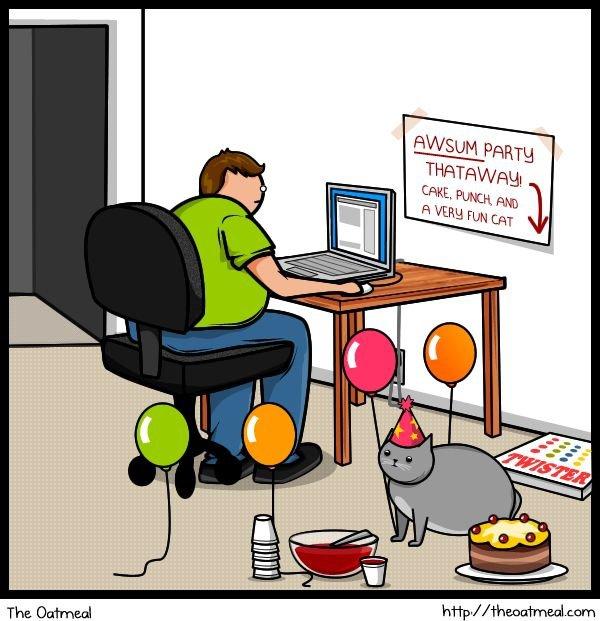 Cat Vs. Internet