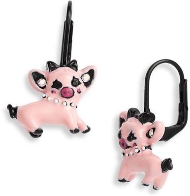 Critters Pig Drop Earrings