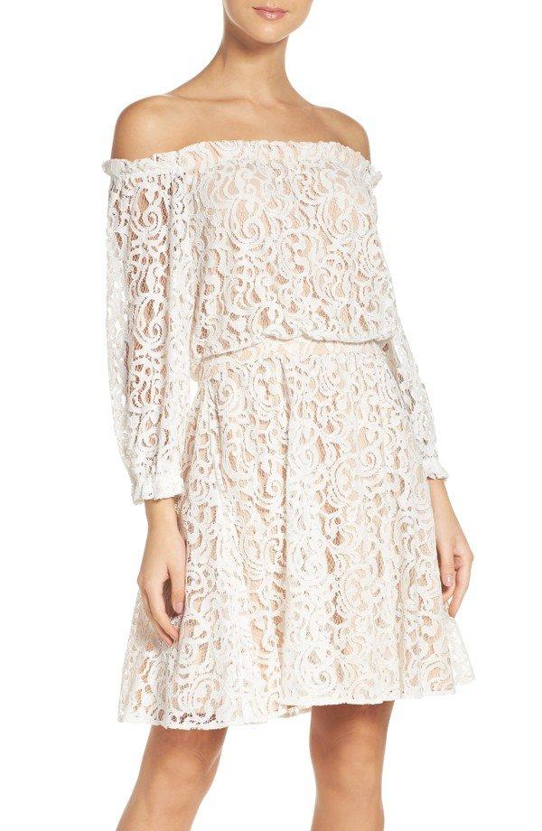 clothing, day dress, dress, sleeve, wedding dress,