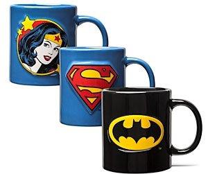 Superhero Embossed Mugs