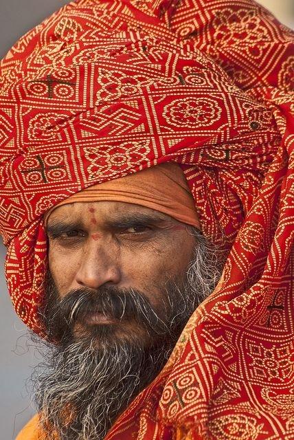 A Holy Man of Haridwar at Har-Ki-Pairi