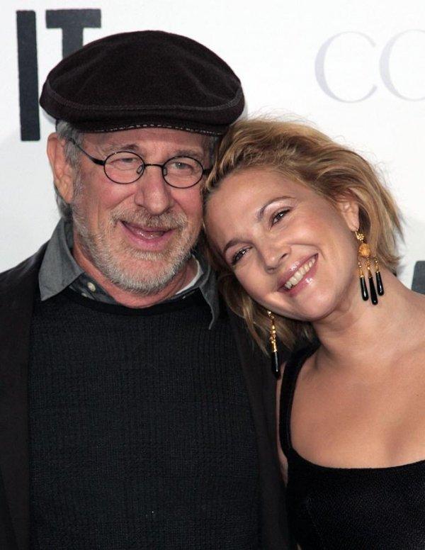 Drew Barrymore & Steven Spielberg