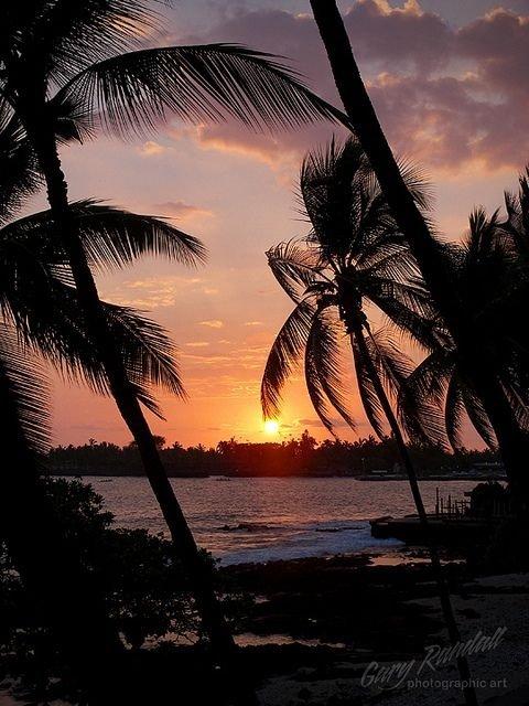 Gorgeous Sunset, Kona,