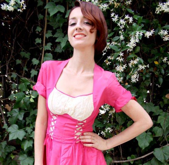 Pink Princess Renaissance Style Dress