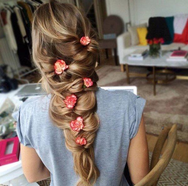 hair, hairstyle, long hair, braid, brown hair,