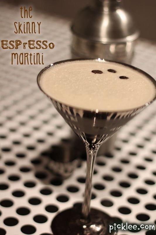 Skinny Espresso Martini