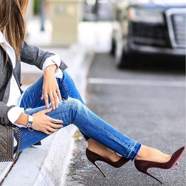 footwear, blue, human positions, sitting, shoe,