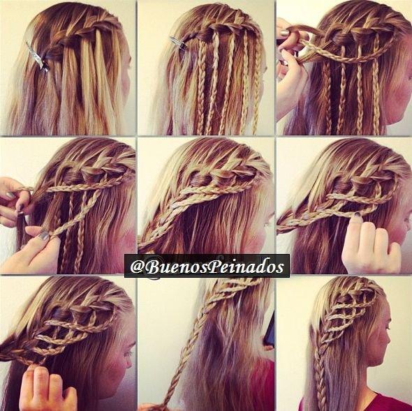 hair,hairstyle,braid,hair coloring,long hair,
