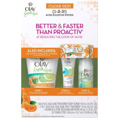 Olay, skin, CLEAR, SKIN, (1-2-3!),