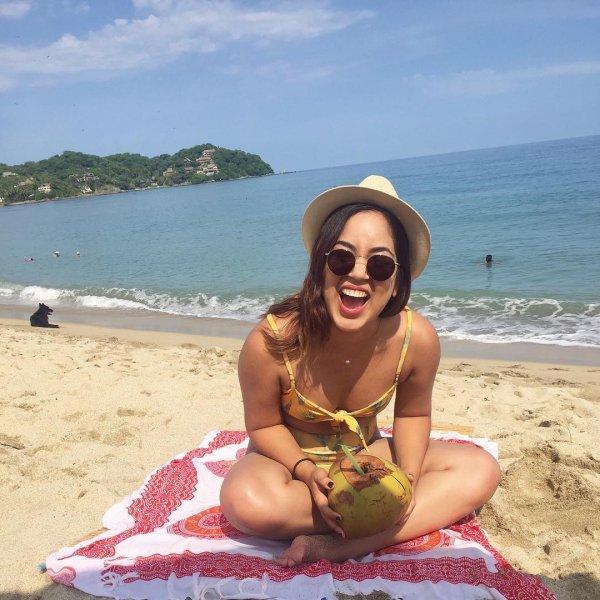 beach, swimwear, vacation, sun tanning, sea,