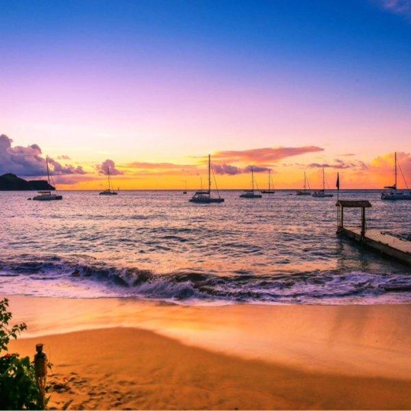 horizon, sky, sea, sunrise, sunset,
