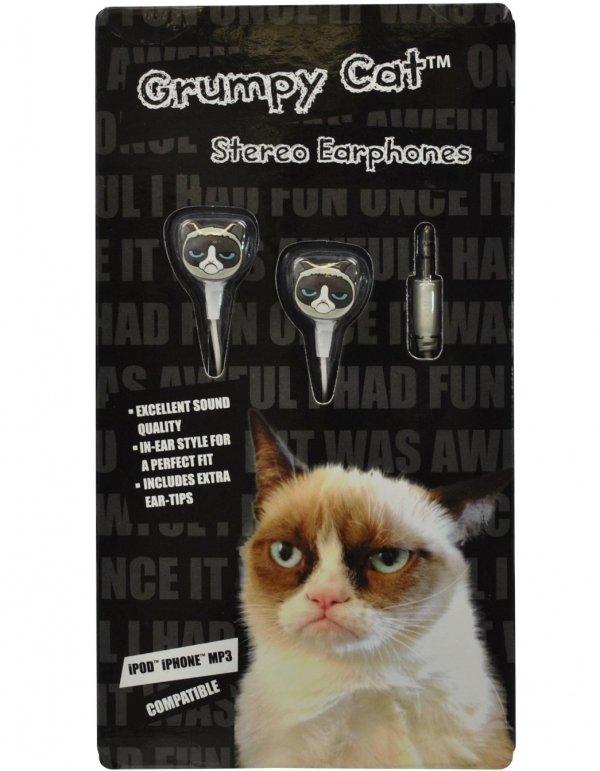 Grumpy Cat Earphones