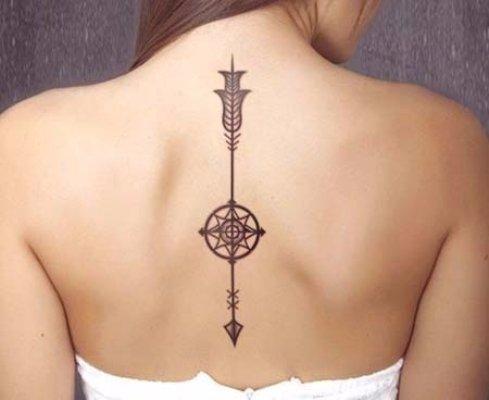 A Spine Tattoo