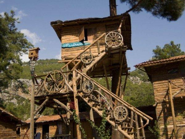 Kadir's Tree Houses - Olympos, Turkey