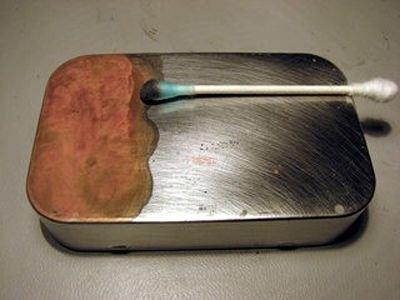 Copper Plate Effect