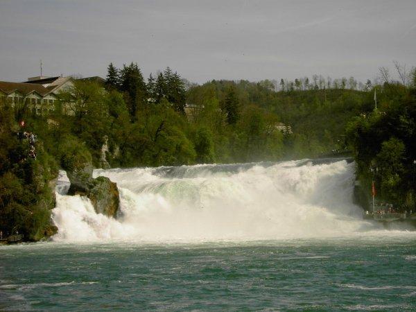 Wear a Raincoat to the Rhine Falls